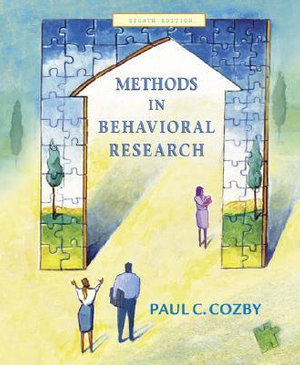 Cover of Methods in behavioral research