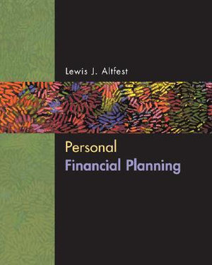 Cover of Personal Financial Planning