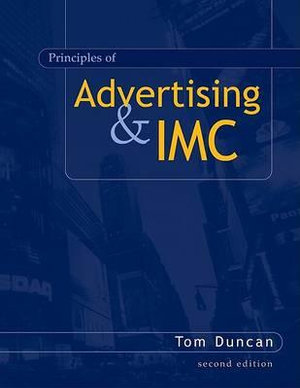 Cover of Principles of Advertising and IMC