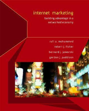 Cover of Internet Marketing: Building Advantage in a Networked Economy