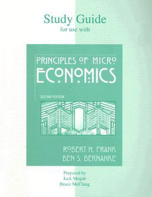 Cover of Study Guide for Use with Principles of Microeconomics