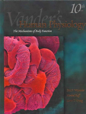 Cover of Vander's human physiology