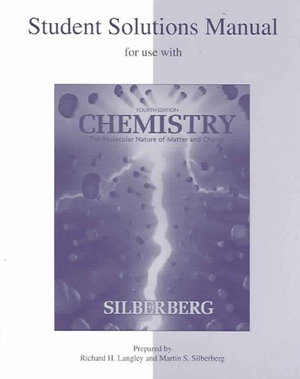 Cover of Student Solutions Manual to accompany Chemistry