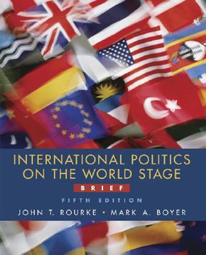 Cover of International Politics on the World Stage, Brief