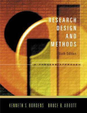 Cover of Research and Design Methods