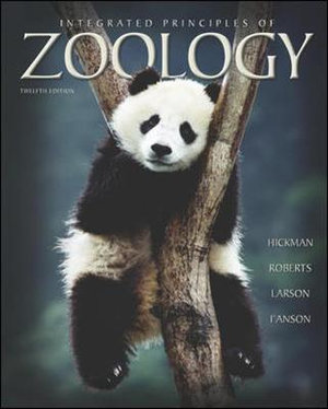 Cover of Integrated Principles of Zoology