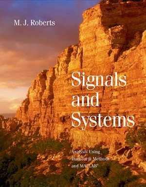 Cover of Signals and Systems: Analysis of Signals Through Linear Systems