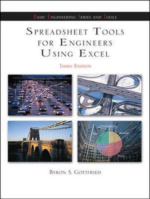 Cover of Spreadsheet Tools for Engineers using Excel