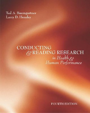 Cover of Conducting and reading research in health and human performance