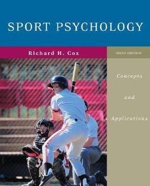 Cover of Sport Psychology: Concepts and Applications