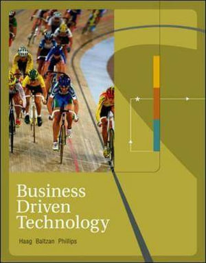 Cover of Business Driven Technology