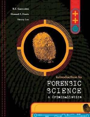 Cover of Introduction to Forensic Science and Criminalistics
