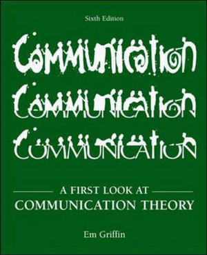 Cover of A First Look at Communication Theory