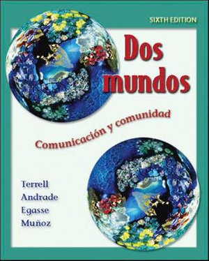 Cover of Dos mundos Student Edition with Online Learning Center Bind-in Passcode