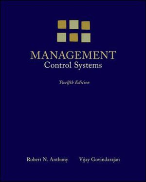 Cover of Management Control Systems