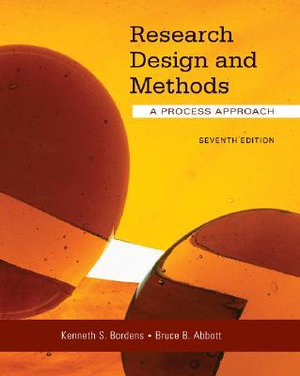 Cover of Research Design and Methods: A Process Approach
