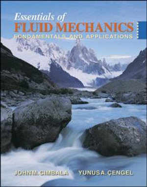 Cover of Essentials of fluid mechanics