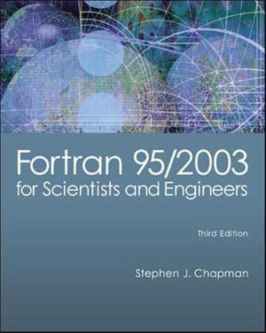 Cover of Fortran 95/2003 for Scientists & Engineers