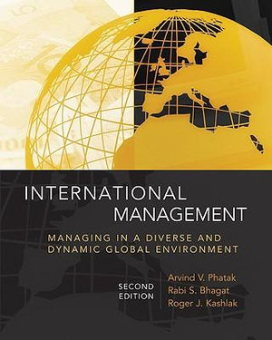 Cover of International Management: Managing in a Diverse and Dynamic Global Environment