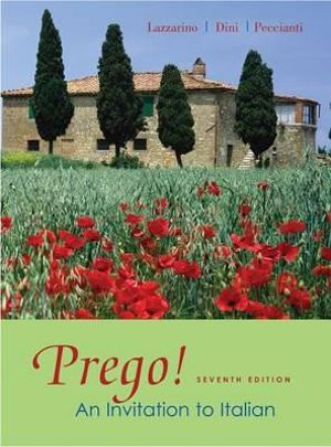 Cover of Workbook to accompany Prego! An Invitation to Italian