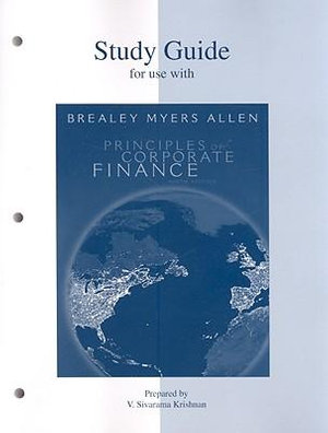 Cover of Study Guide to accompany Principles of Corp. Finance