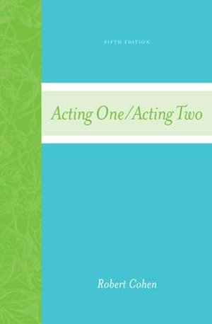 Cover of Acting One/Acting Two