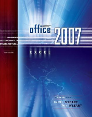 Cover of Microsoft Office Excel 2007 Introduction