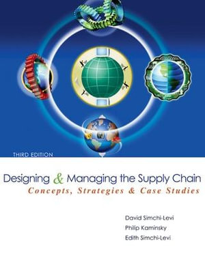 Cover of Designing and Managing the Supply Chain 3e with Student CD