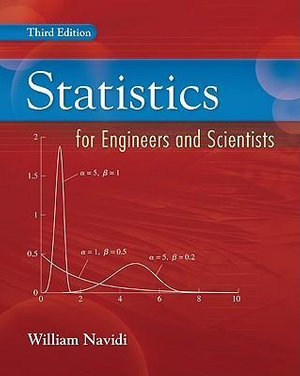 Cover of Statistics for Engineers and Scientists