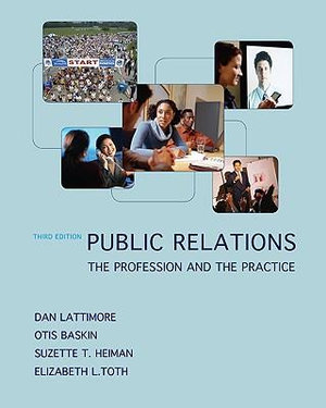 Cover of Public Relations:  The Profession and the Practice