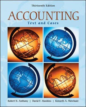 Cover of Accounting: Texts and Cases