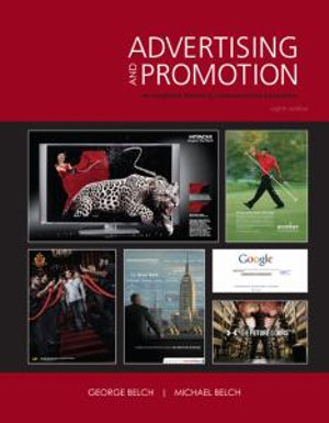 Cover of Advertising and Promotion: An Integrated Marketing Communications Perspective
