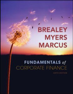 Cover of Fundamentals of Corporate Finance