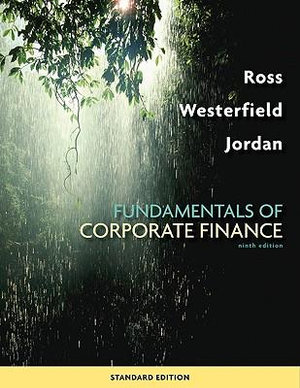 Cover of Fundamentals of Corporate Finance Standard Edition