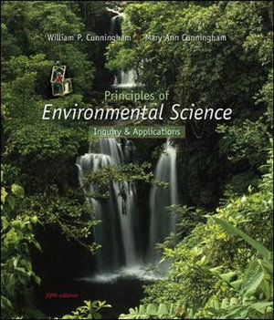 Cover of Principles of Environmental Science