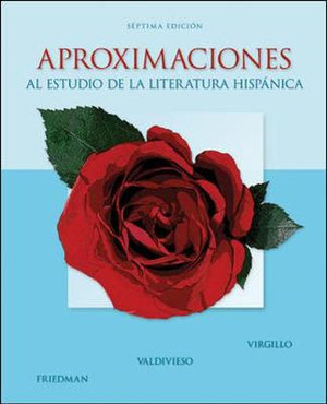 Cover of Aproximaciones al estudio de la literatura hispánica