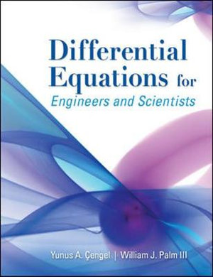 Cover of Differential Equations for Engineers and Scientists