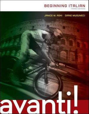 Cover of AVANTI: BEGINNING ITALIAN
