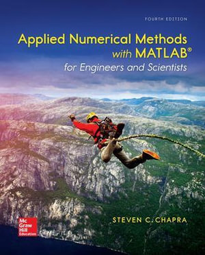 Cover of Applied Numerical Methods with MATLAB for Engineers and Scientists