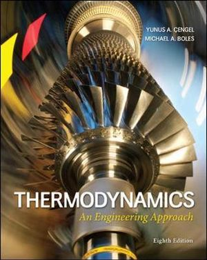 Cover of Thermodynamics: An Engineering Approach