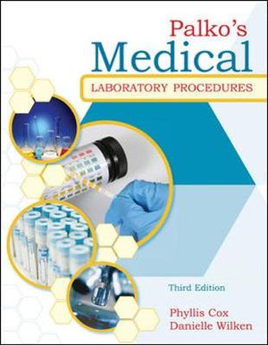 Cover of Palko's Medical Laboratory Procedures
