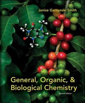 Cover of General, Organic, & Biological Chemistry