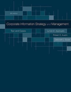 Cover of Corporate Information Strategy and Management: Text and Cases