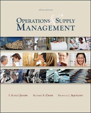 Cover of Operations and Supply Management