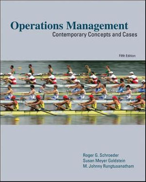 Cover of Operations Management: Contemporary Concepts and Cases