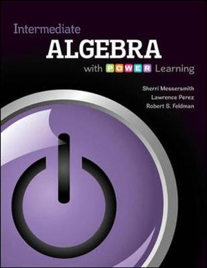 Cover of Intermediate Algebra with P.O.W.E.R. Learning