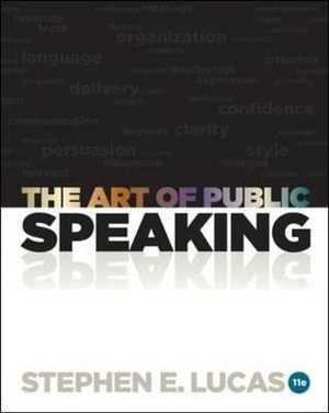 Cover of The Art of Public Speaking