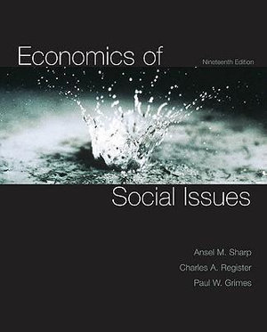 Cover of Economics of Social Issues