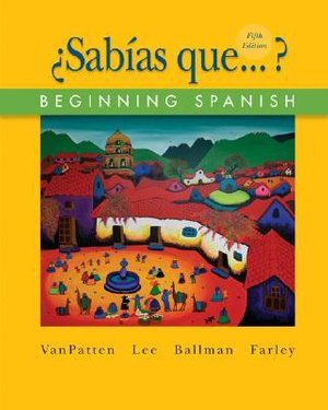 Cover of ¿Sabías que...?: Beginning Spanish