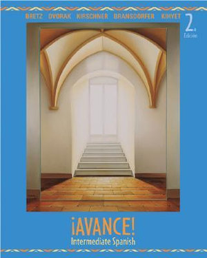 Cover of ¡Avance! Intermediate Spanish Student Edition